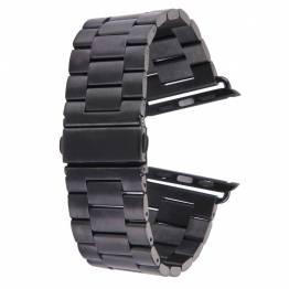 Apple Watch metal rem 38/40 mm - sort