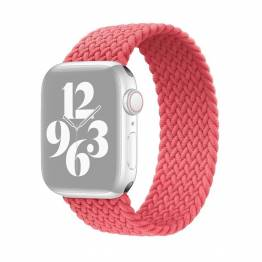 Apple Watch flettet rem 42/44 mm - Small - rosa