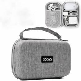 Taske til kabler og opladere - grå