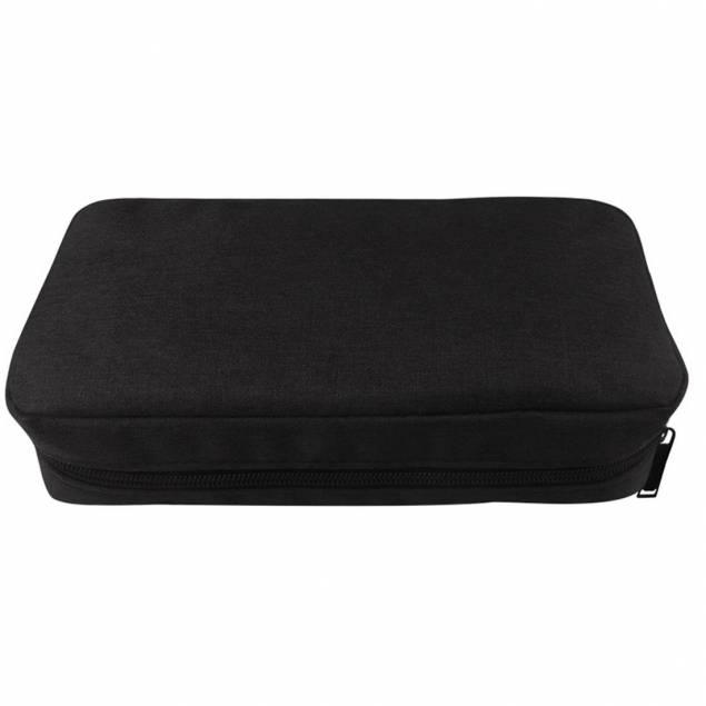Lille taske til kabler og opladere - sort