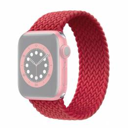 Apple Watch flettet rem 42/44 mm - Small - rød