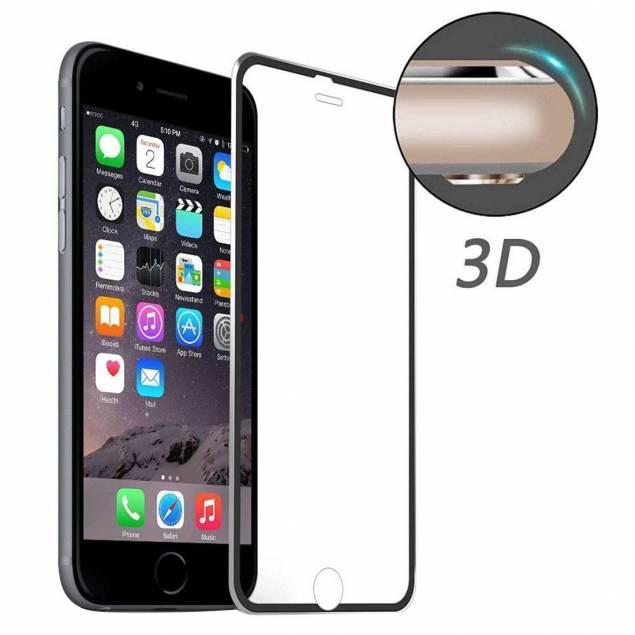 iPhone panser glas 3d - iPhone Beskyttelsesglashar de sidste par generationer ikke gået helt ud til kanten, det er fordi det er svært at lave glas der bukker rundt om en iPhone på samme måde som iPhones glas gør. men det er nu blvet billigt nok og godt nok til at det kan laves