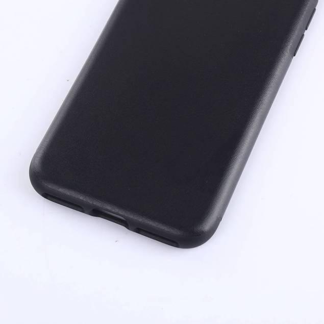 iPhone 7 & 8 cover tyndt forstærket plastik - Farve - Sort, iPhone - iPhone 7 & iPhone 8 - Godt enkelt cover til iPhone 7. Coveret er lavet af plastik med tekstur fra læder det er altså lavet af kunst læder. Coveret er støbt så enkelt som muligt, så det holder bedre end dem som er sat sammen af flere dele.