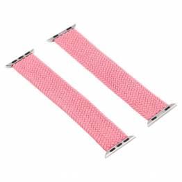Apple Watch flettet rem 38/40 mm - Medium - rosa