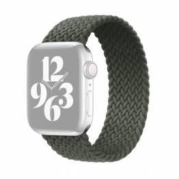 Apple Watch flettet rem 38/40 mm - Large - grøn