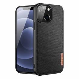 "DUX DUCIS Fino iPhone 13 mini 5,4"" cover med vævet overflade - sort"