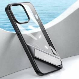 """Ugreen Fusion iPhone 13 Pro Max 6,7"""" cover m kickstand - gennemsigtigt"""
