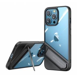 """Ugreen Fusion iPhone 13 Pro 6,1"""" cover m kickstand - gennemsigtigt"""