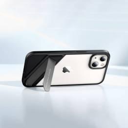 """Ugreen Fusion iPhone 13 6,1"""" cover med kickstand - gennemsigtigt"""