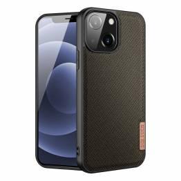 "DUX DUCIS Fino iPhone 13 mini 5,4"" cover med vævet overflade - grøn"