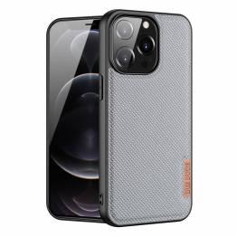 "DUX DUCIS Fino iPhone 13 Pro 6,1"" cover med vævet overflade - grå"