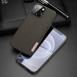 "DUX DUCIS Fino iPhone 13 6,1"" cover med vævet overflade - grøn"