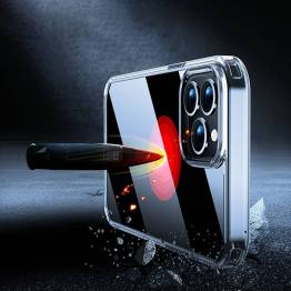 "X-level Space II iPhone 13 6,1"" stødsikkert cover - Gennemsigtigt"