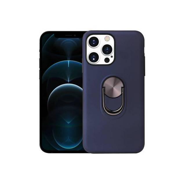 """Smart iPhone 13 Pro Max cover 6,7"""" med 360° stand og magnet - Blå"""