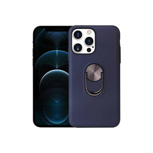 "Smart iPhone 13 mini cover 5,4"" med 360° stand og magnet - Blå"