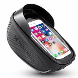 Cykel taske med iPhone holder til styret