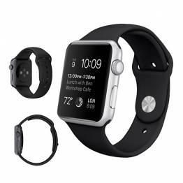 Sports rem til Apple watch sort