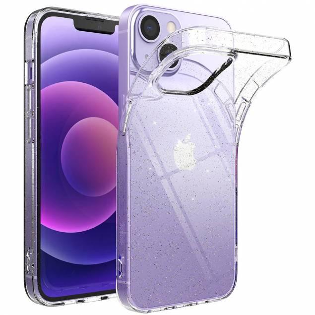 Ringke Air Ultra iPhone 13 mini Gel cover - Gennemsigtigt med glitter
