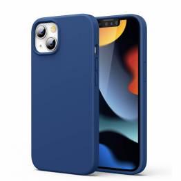 """Ugreen iPhone 13 6,1"""" beskyttende silikone cover - blå"""