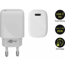 Goobay USB oplader med PD og 20W
