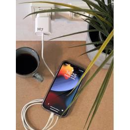 20W oplader til iPhone/iPad med USB-C PD og USB-C til Lightning kabel