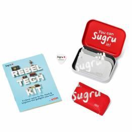 Sugru 'fix det' modellervokslim - Rebel Tech Kit med hæfte og 4-pack