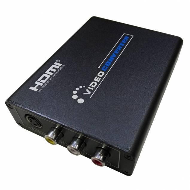 Image of   HDMI til AV + S-Video Video Converter
