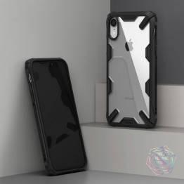 Ringke ekstra beskyttende cover til iPhone XR med gennemsigtig bagside
