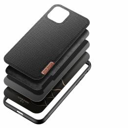 DUX DUCIS Fino iPhone 11 cover med vævet overflade - sort