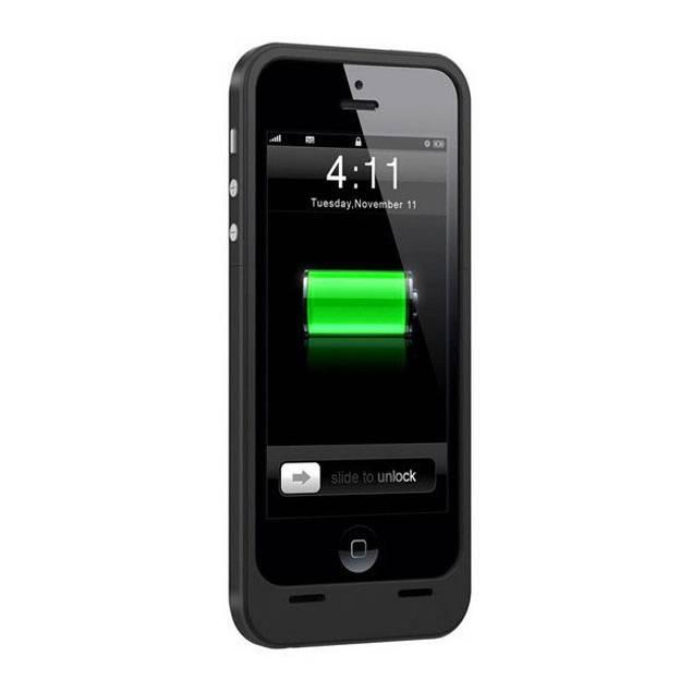 Battericover til iPhone 5/5S - Dette battericover virker til iPhone 5 og iPhone 5S. Når du har coveret på din telefon, skal du blot tænde for det hvorefter det vil lade din telefon. Når coveret eller telefonen er løbet tør for strøm, tilslutter du blot coveret til en strømkilde hvoref