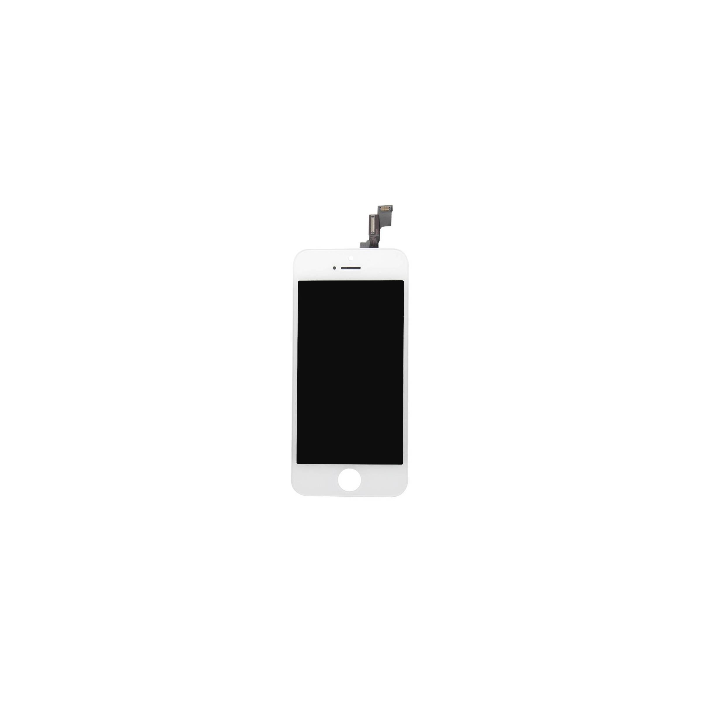 kina oem Iphone 5s skærm i høj kvalitet farve hvid fra mackabler.dk