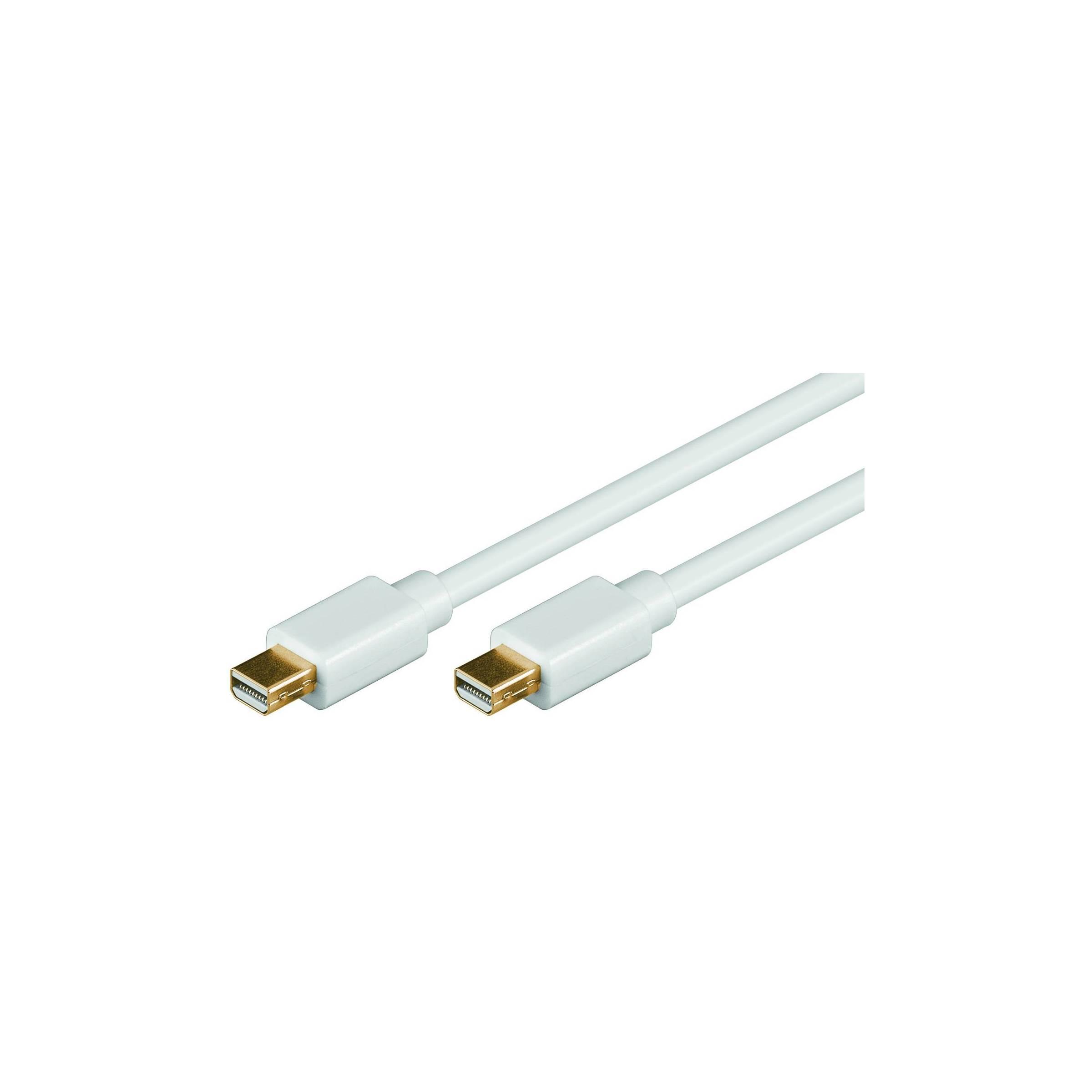 goobay Goobay mini displayport 1.2 kabel han-han længde 3 meter fra mackabler.dk