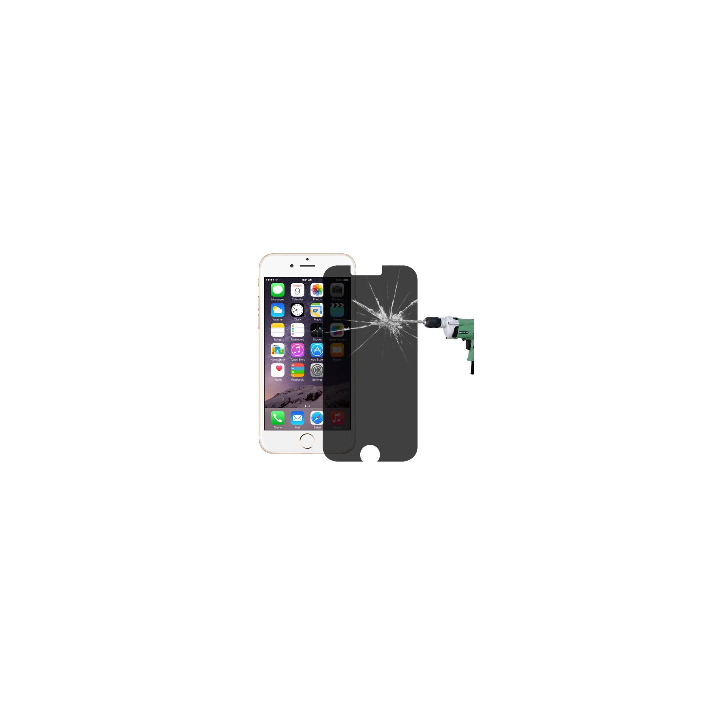 haweel Privacy beskyttelsesglas til iphone iphone iphone 6 plus/ 6s plus på mackabler.dk