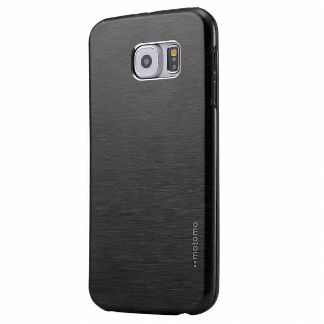 Samsung Galaxy S7 cover, børstet metal - Et lækkert cover til din Samsung Galaxy S7 i metal. Dette er et meget solidt cover som bidrager til at forlænge din levetid på telefonen markant. Det forhindre at din Samsung bliver ridset da coveret vil tage ridserne for din telefon. Derudover beskytter