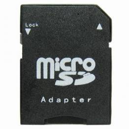 Image of   Micro SD til SD kort adapter