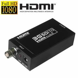 MINI 3G SDI til HDMI aktiv konverter adapter
