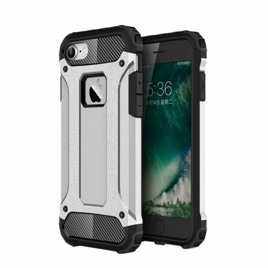 Håndværker iPhone cover, iPhone iPhone 7 & iPhone 8 / iPhone SE 2020, Farve Sølv farve
