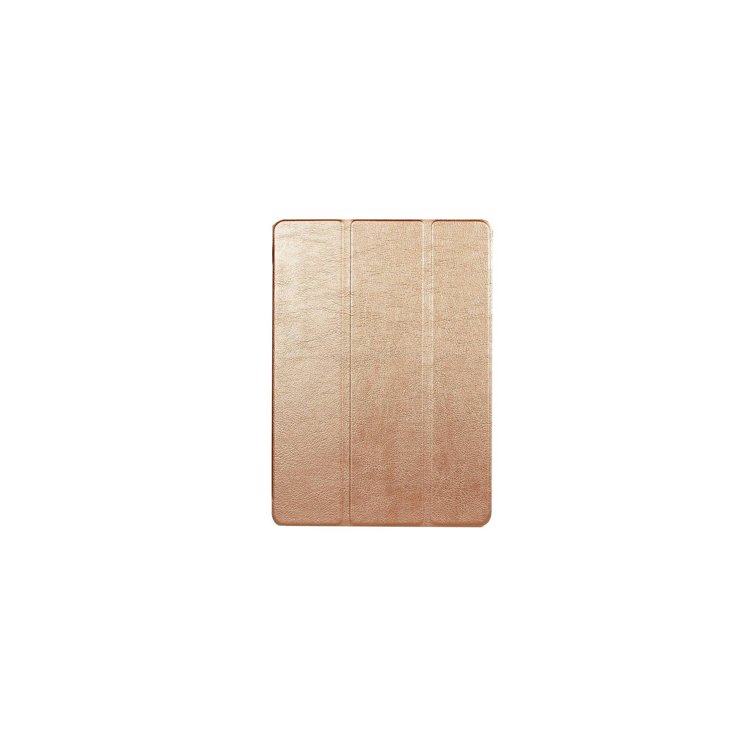 """kina oem – Ipad pro 10,5""""/air 3 cover med bagside og smartcover farve guld fra mackabler.dk"""