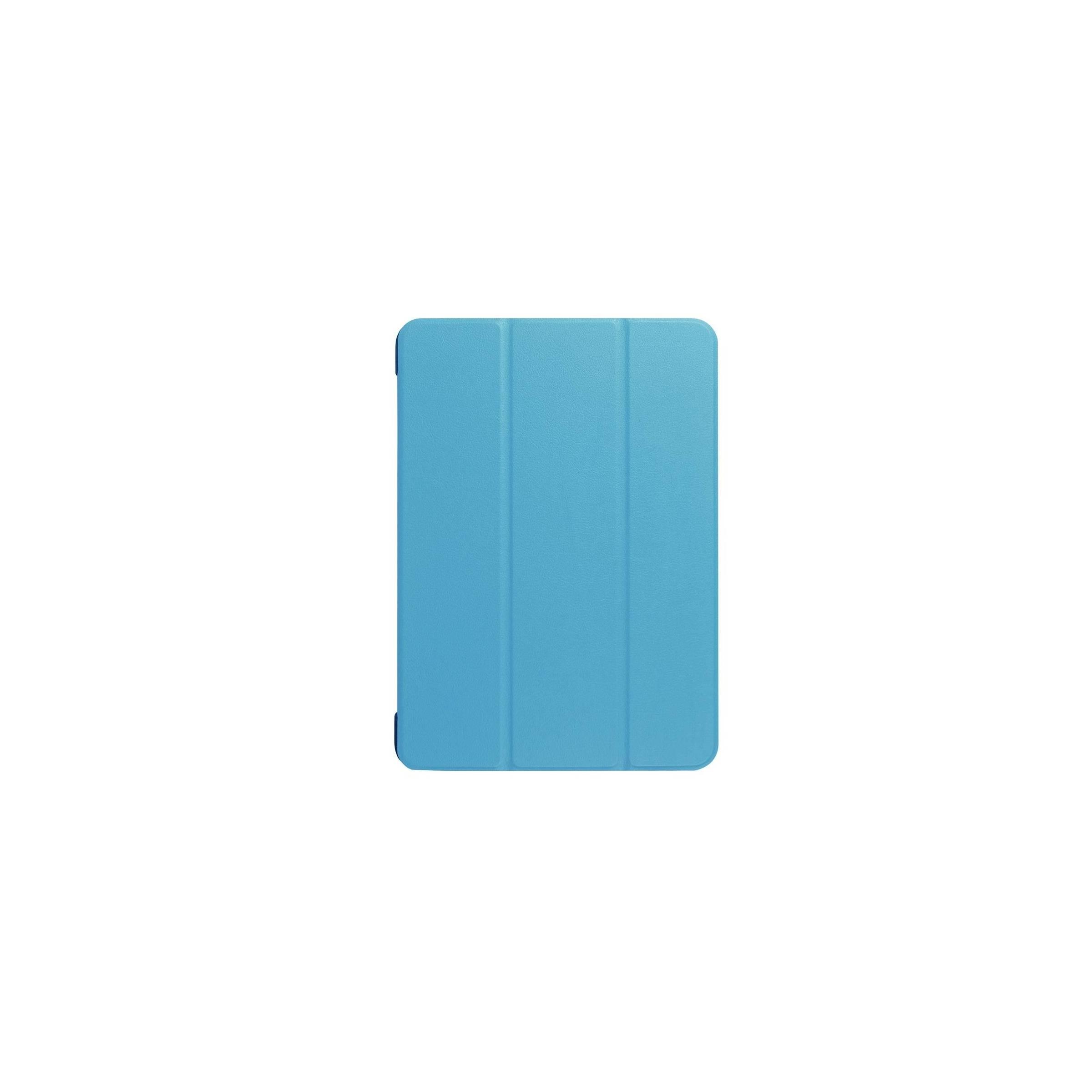 """Ipad pro 10,5""""/air 3 cover med bagside og smartcover farve lyseblå fra kina oem på mackabler.dk"""