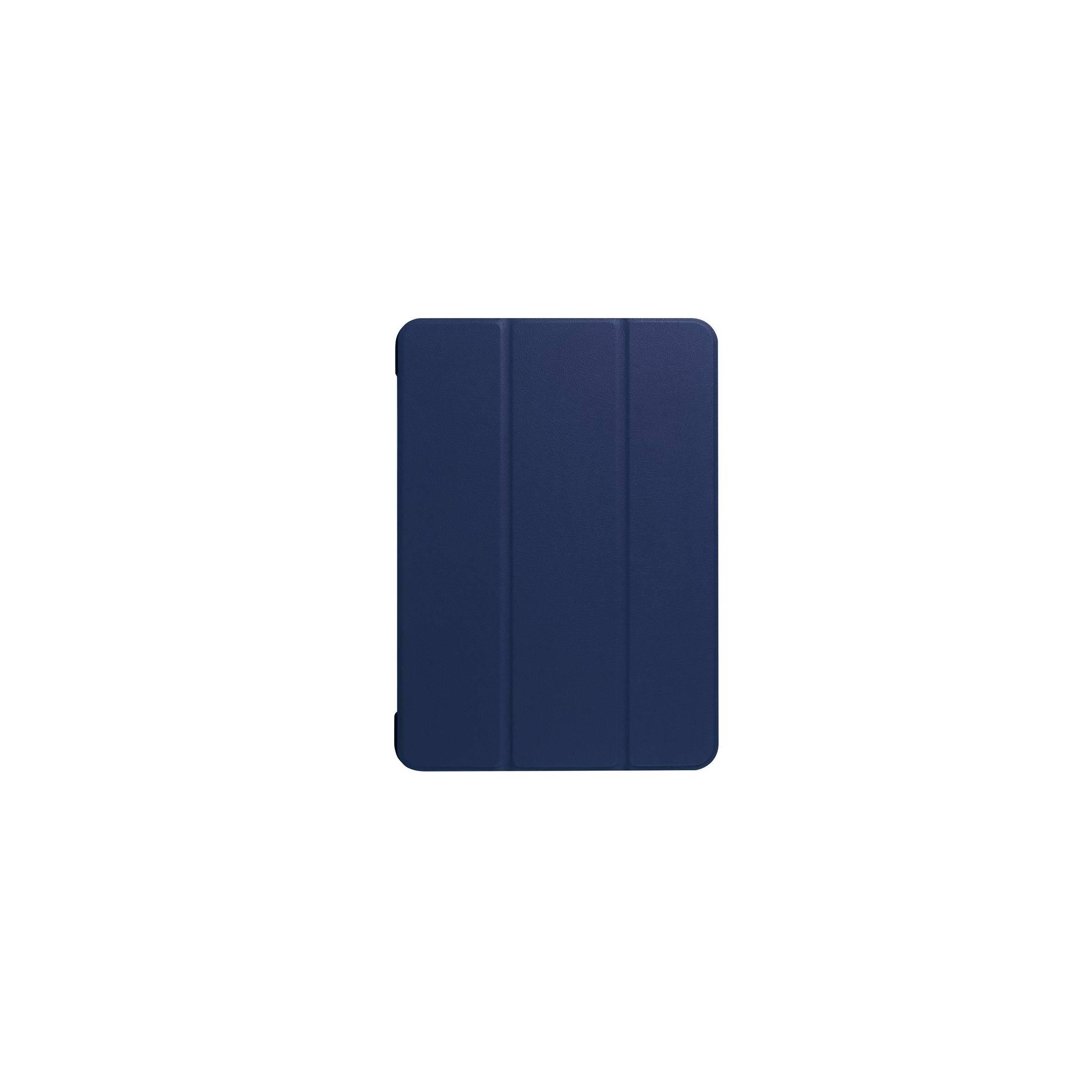 """Ipad pro 10,5""""/air 3 cover med bagside og smartcover farve blå fra kina oem fra mackabler.dk"""