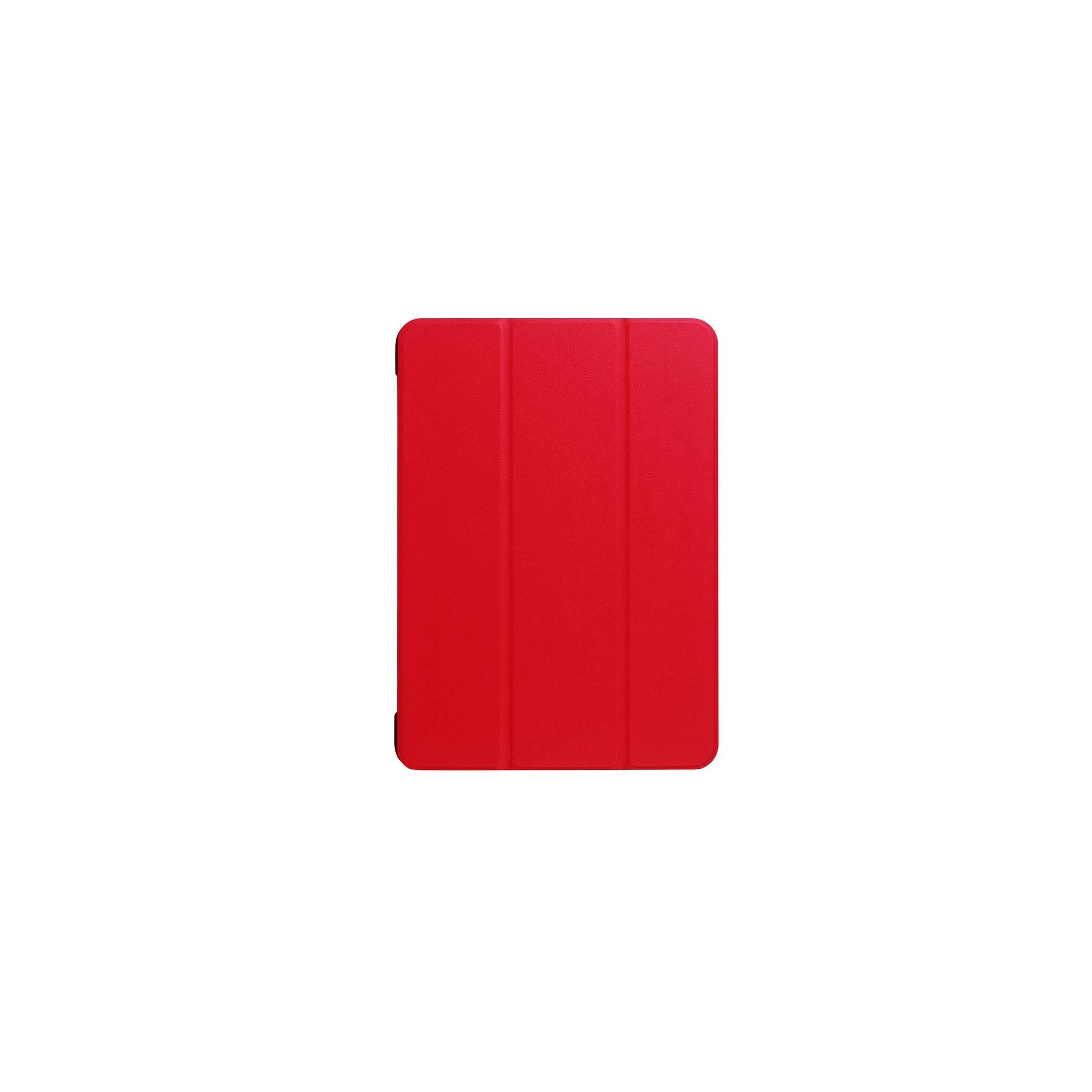 """kina oem Ipad pro 10,5""""/air 3 cover med bagside og smartcover farve rød fra mackabler.dk"""