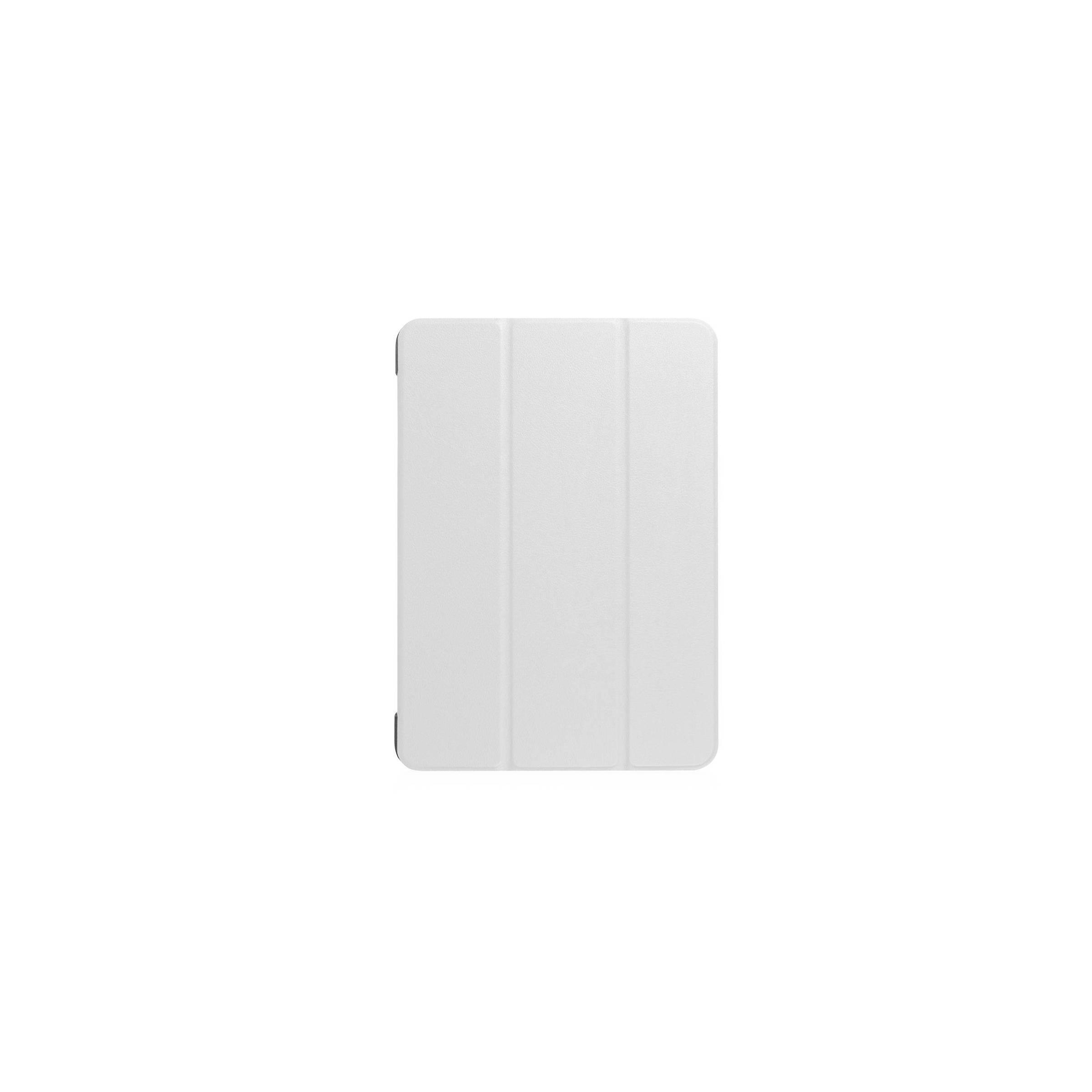 """Ipad pro 10,5""""/air 3 cover med bagside og smartcover farve hvid fra kina oem fra mackabler.dk"""