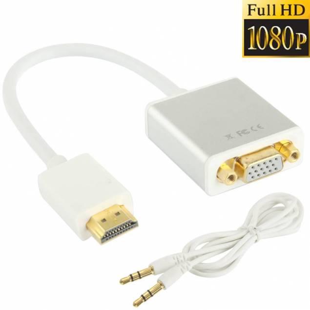 Image of   HDMI til VGA med lyd