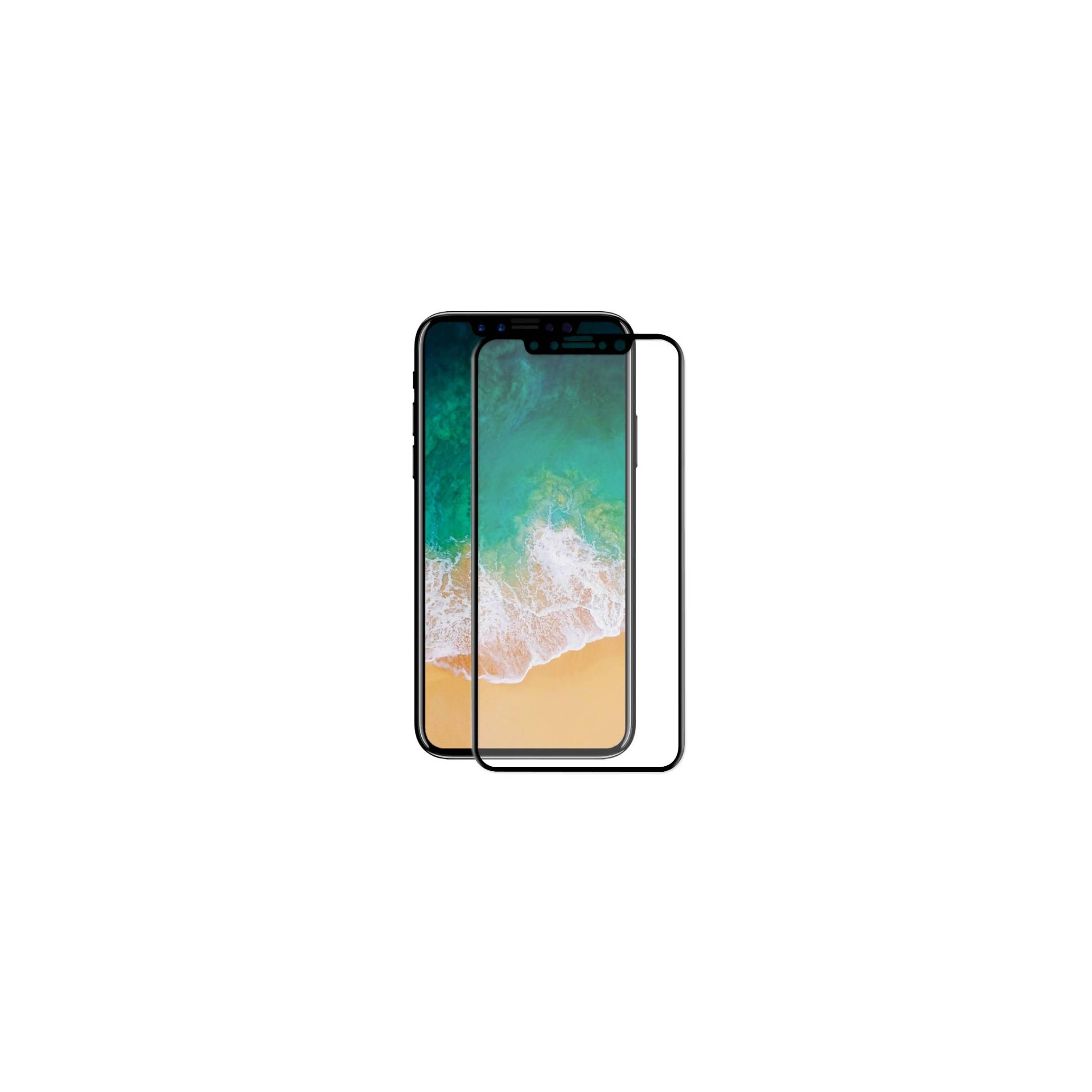 enkay – Beskyttelsesglas til iphone x/xs/11pro med sort kant 3d på mackabler.dk
