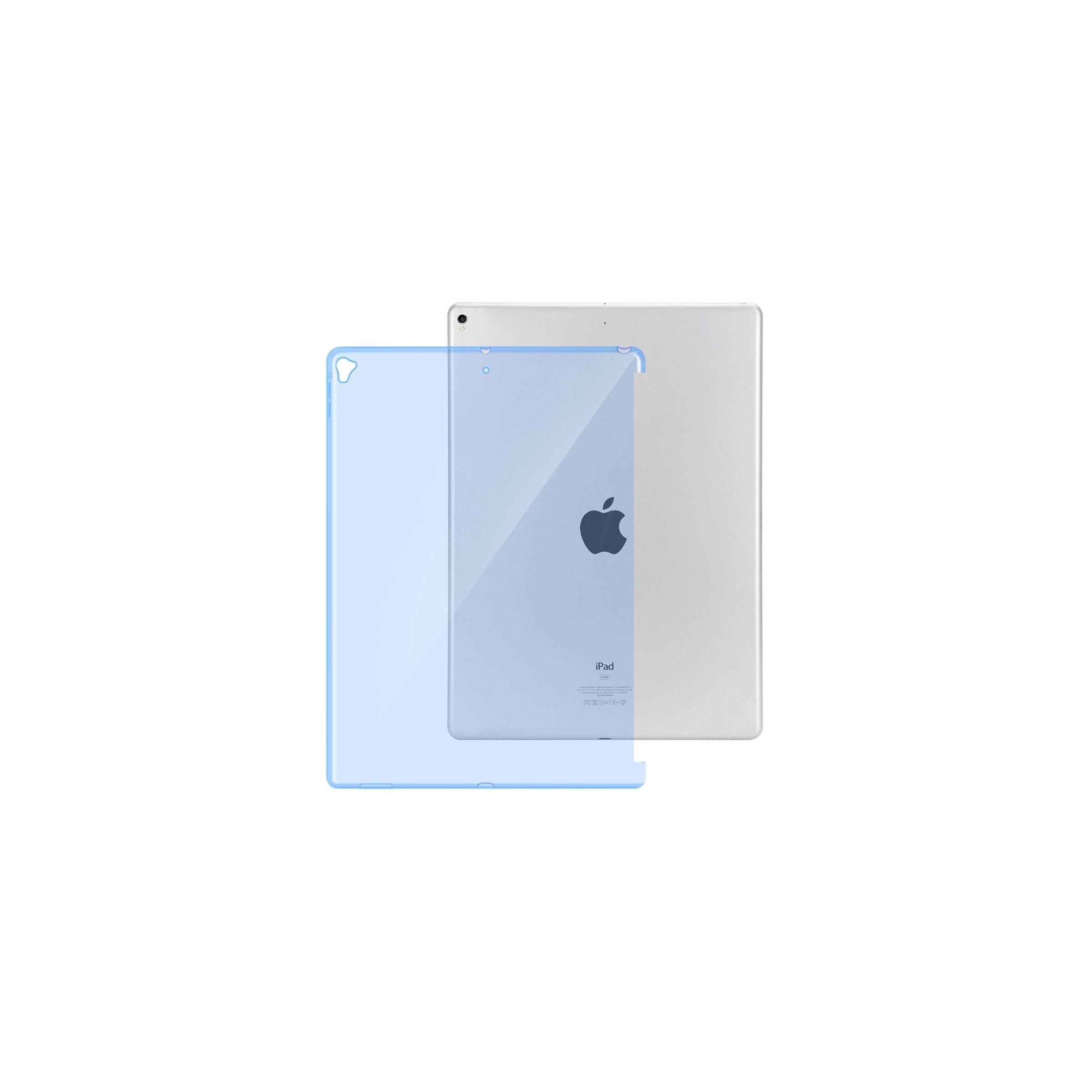 """kina oem – Ipad pro 12,9"""" bag cover med plads til smart connector tastatur farve blå på mackabler.dk"""