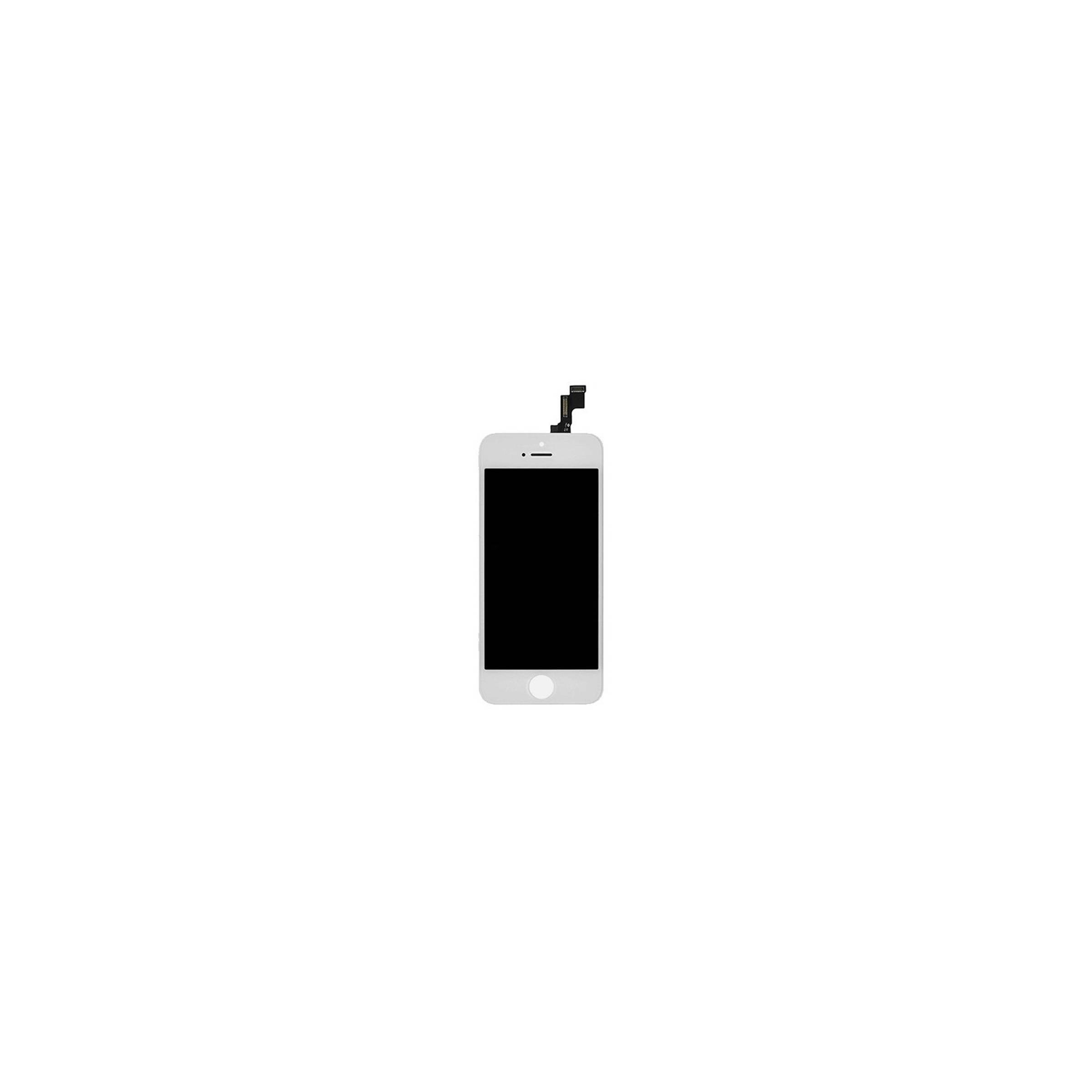 sinox Iphone se skærm i høj kvalitet farve hvid på mackabler.dk