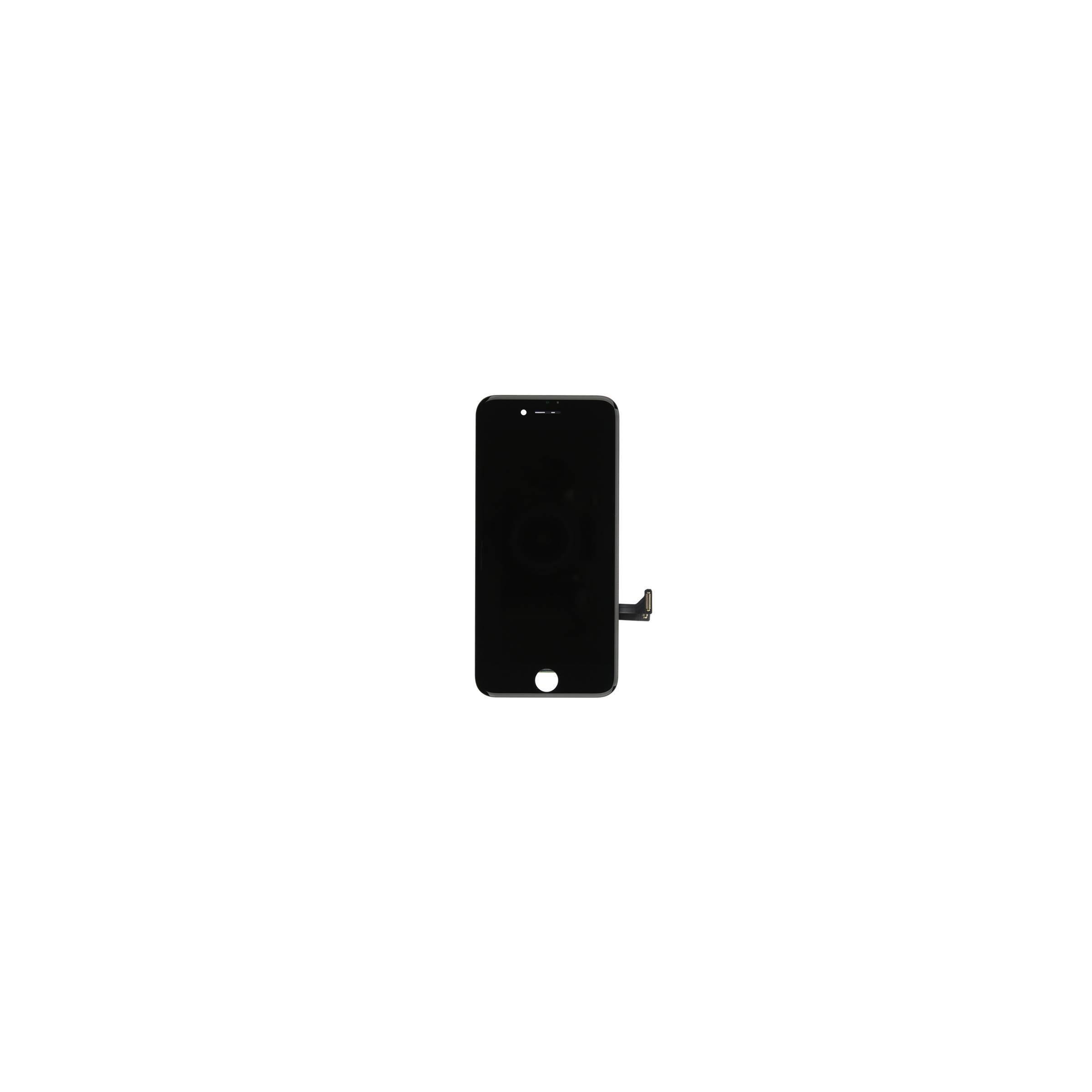 Iphone 7 skærm i høj kvalitet farve sort fra sinox fra mackabler.dk