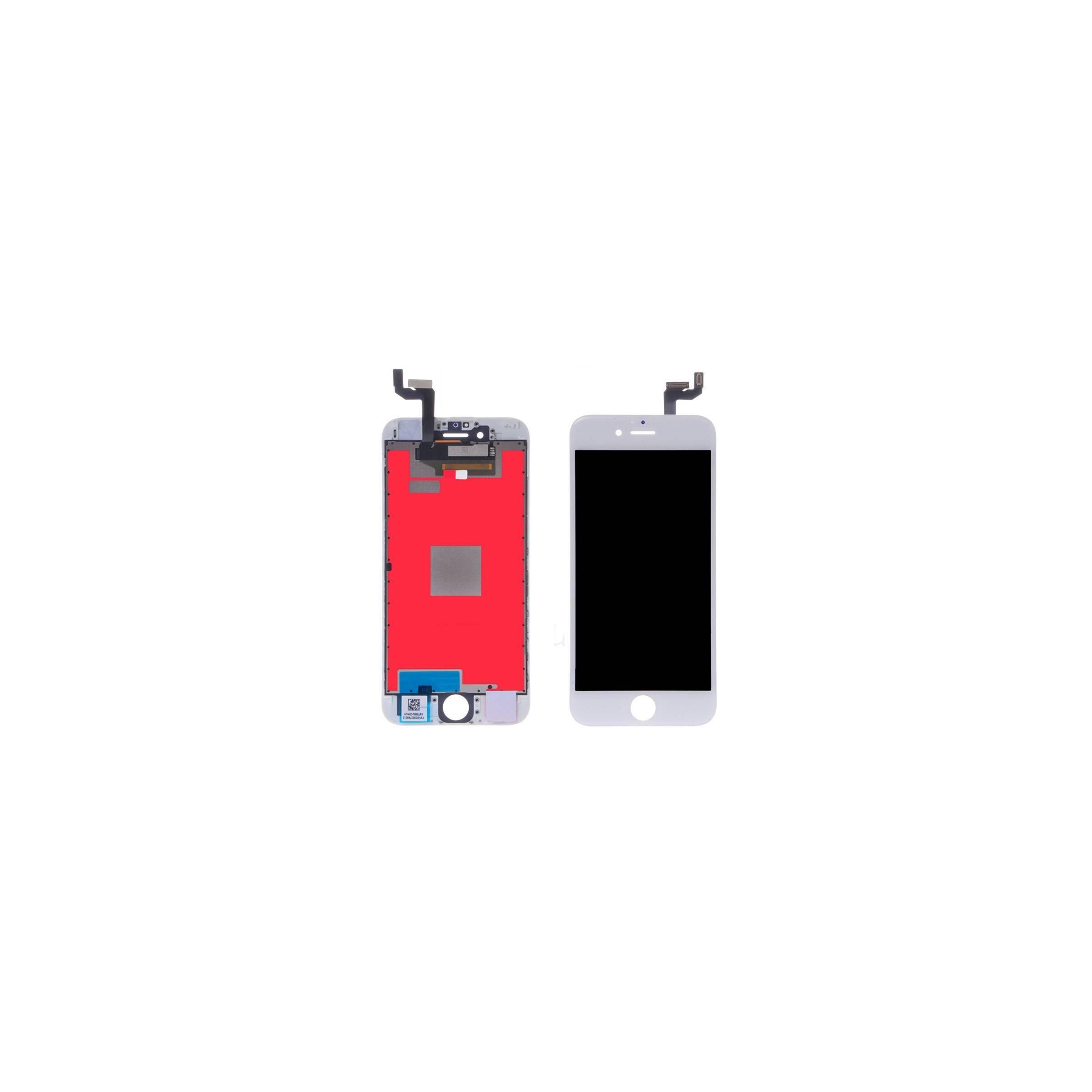 sinox Iphone 6s skærm i høj kvalitet farve hvid fra mackabler.dk