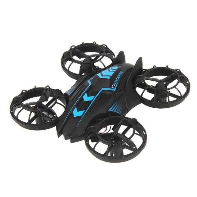 JXD 515W FPV drone til iOS - Alle roterne er dækket ind så den er sikker og let at flyve med inden for. Fjernbetjeningen køre med 2.4GHz trådløs forbindelse ogJXD 515W FPV dronen understøtter også kontrol og video over wifi. der er 4 kanaler så du ikke overtager en anden drone. Virk