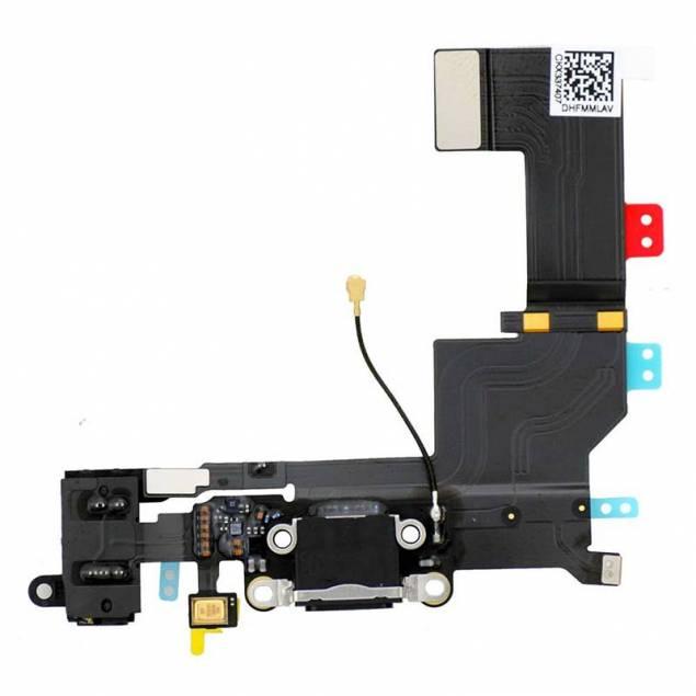 iPhone 5s Power Dock+cable original - Farve - Sort - Hvis du begynder at have lidt problemer med din få din iPhone 5stil at lade op, så er det meget muligt at det er lade komponentet i din telefon, son der fejler noget. Det kan du heldigvis gøre noget ved uden at skulle betale for reparation af din iPhone